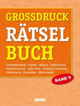 Grossdruck Rätselbuch Band 9