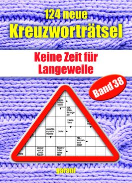 124 neue Kreuzworträtsel Band 38
