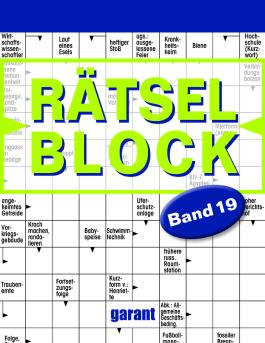 Rätselblock Band 19