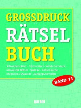 Rätselbuch Großdruck Band 11