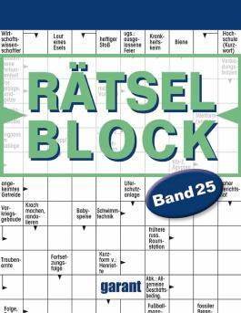 Rätselblock Band 25