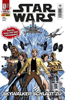 Star Wars, Comicmagazin 1: Skywalker schlägt zu (Star Wars Comicmagazin)
