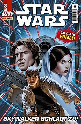 Star Wars, Comicmagazin 3: Skywalker schlägt zu (Star Wars Comicmagazin)