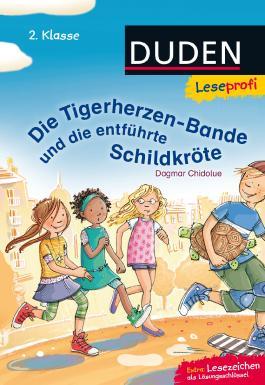 Leseprofi ─ Die Tigerherzen-Bande und die entführte Schildkröte, 2. Klasse