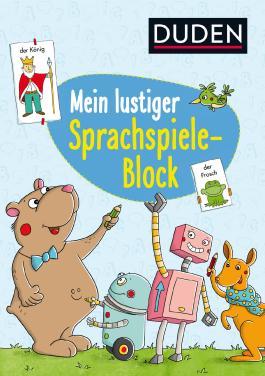 Mein lustiger Sprachspiele-Block