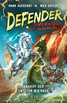 Defender - Superheld mit blauem Blut. Angriff der untoten Wikinger