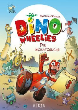 Dino Wheelies: Die Schatzsuche