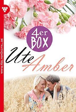 Ute Amber 4er Box - Liebesromane: Die Erbin von Burg Falkenhorst - Das Mädchen im Silberkleid - Die Schlossherrin - Das Schicksal hat es so gewollt