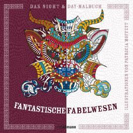 Night & Day-Malbuch: Fantastische Fabelwesen
