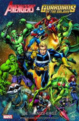 Avengers & die Guardians of the Galaxy