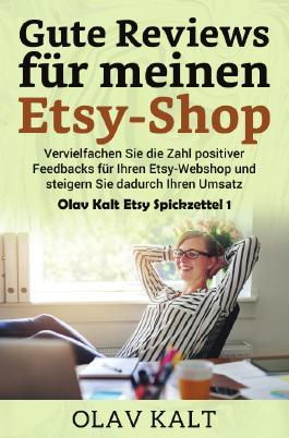 Olav Kalt Etsy Spickzettel / Gute Reviews für meinen Etsy-Shop