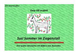 Oma Elli erzählt / Oma Elli erzählt:Susi Sommer im Ziegenstall