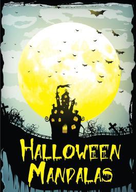 Erwachsenen Malbuch - Halloween Mandalas - Ausgabe 1