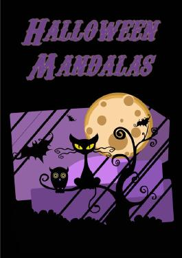 Malbuch für Erwachsene: Halloween