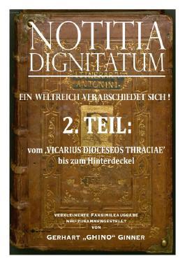 NOTIZIA DIGNITARUM / NOTITIA DIGNITATUM 2.Teil