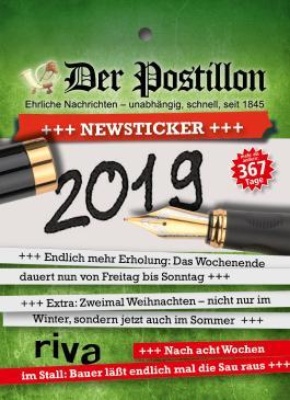 Der Postillon +++ Newsticker +++ 2019