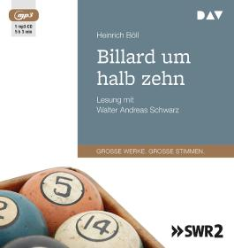 Billard um halb zehn (1 mp3-CD)