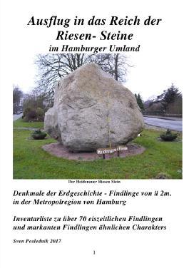 Denkmale der Erdgeschichte / Ausflug in das Reich der Riesen- Steine im Hamburger Umland