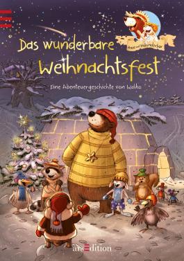 Hase und Holunderbär - Das wunderbare Weihnachtsfest