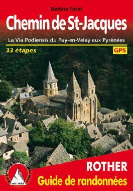 Chemin de St-Jacques (Französischer Jakobsweg - französische Ausgabe)