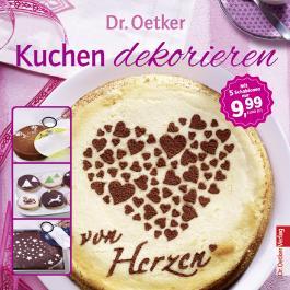 Kuchen dekorieren - Broschüre mit 5 Dekoschablonen