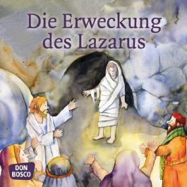 Die Erweckung des Lazarus. Mini-Bilderbuch
