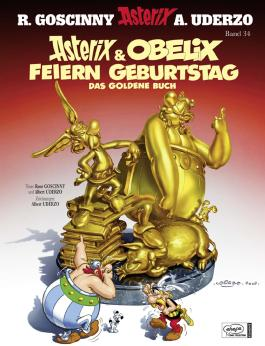 Asterix Band 34 -  Asterix & Obelix feiern Geburtstag