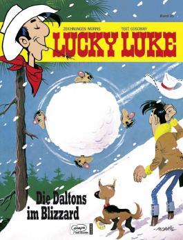 Lucky Luke 25 Die Daltons im Blizzard