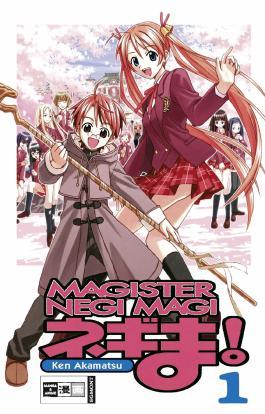 Negima! Magister Negi Magi 01