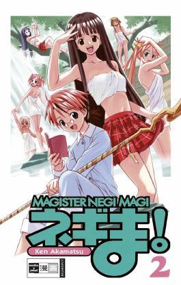 Negima! Magister Negi Magi 02