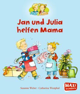 Jan und Julia helfen Mama