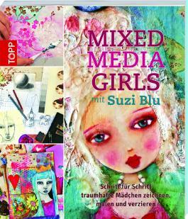 Mixed-Media Girls mit Suzi Blu