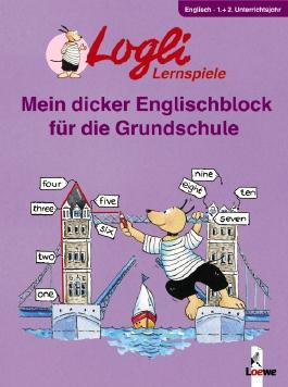 Mein dicker Englischblock für die Grundschule