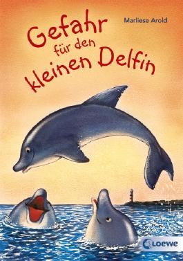 Gefahr für den kleinen Delfin