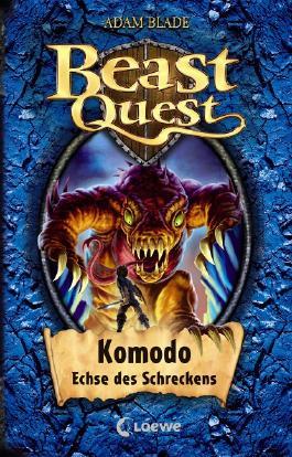 Beast Quest - Komodo, Echse des Schreckens