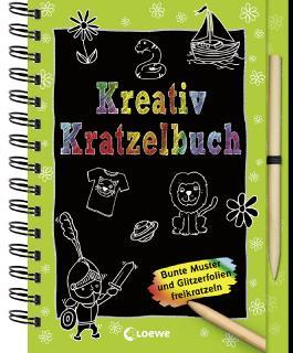 Kreativ-Kratzelbuch
