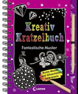 Kreativ-Kratzelbuch: Fantastische Muster