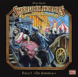 Sherlock Holmes - Die Affenfrau, 1 Audio-CD