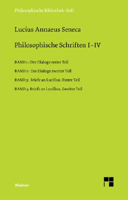 Philosophische Schriften, 4 Bde.