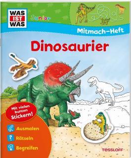 Mitmach-Heft Dinosaurier