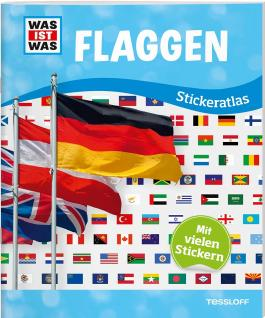 WAS IST WAS Sticker-Atlas Flaggen