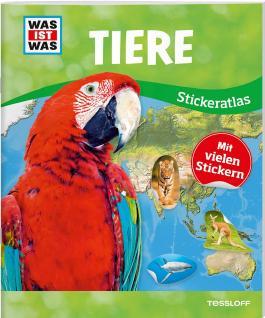 WAS IST WAS Sticker-Atlas Tiere