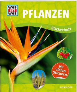 WAS IST WAS Stickerheft Pflanzen