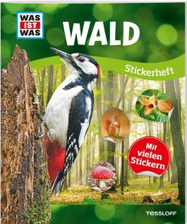 WAS IST WAS Sticker-Heft Wald