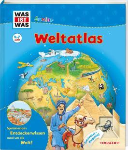 WAS IST WAS Junior Weltatlas für Kinder