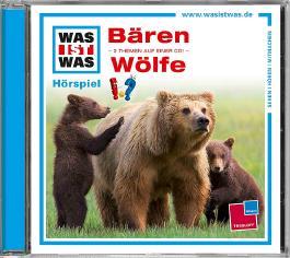 WAS IST WAS Hörspiel-CD: Bären/ Wölfe