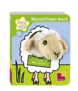Wackelfinger-Buch Paula, das Schaf