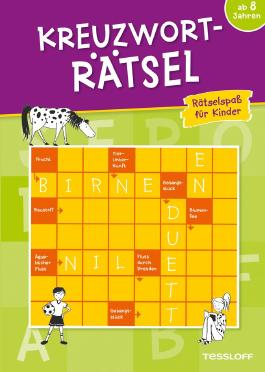 Kreuzworträtsel: Rätselspaß für Kinder ab 8 Jahren