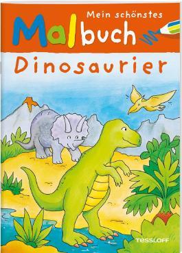 Mein schönstes Malbuch Dinosaurier