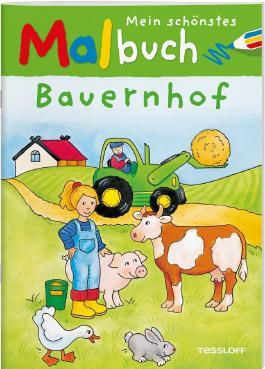 Mein schönstes Malbuch Bauernhof